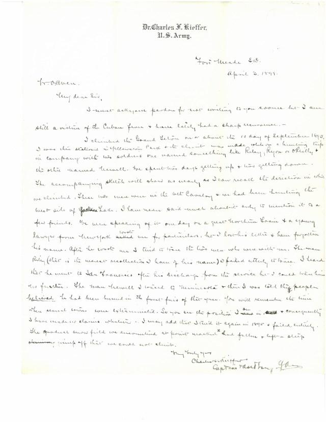 Kieffer letter