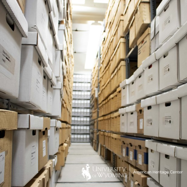behind the scenes look at the archive at the American Heritage Center