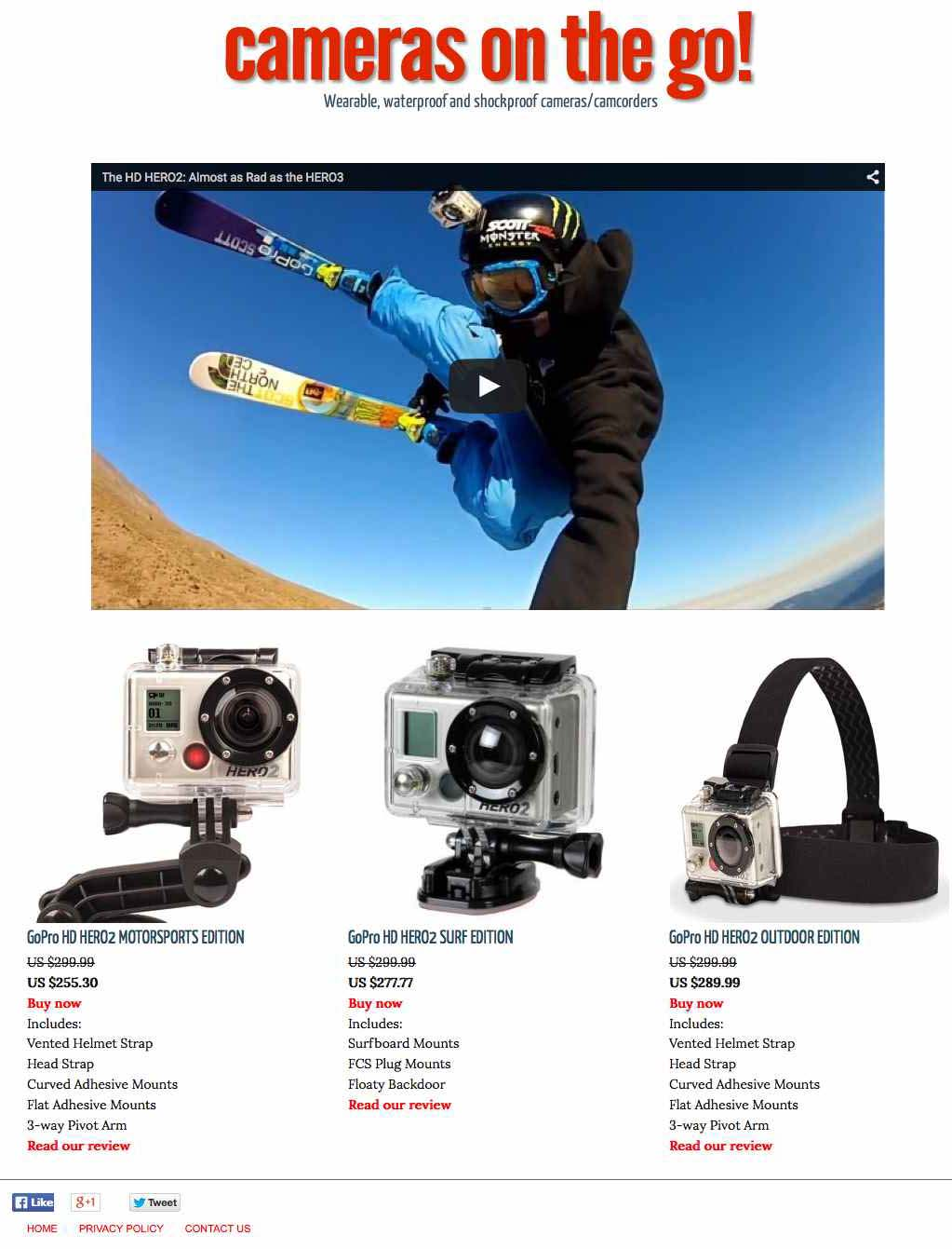 Sport Cameras (review Site)  Hacked By Deathcreppy