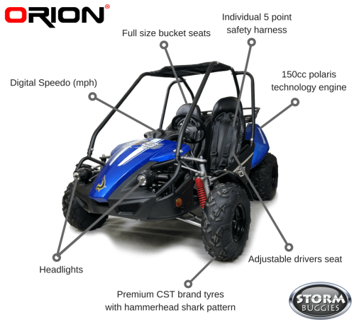 small resolution of hammerhead gts150 buggy with usa specs blue