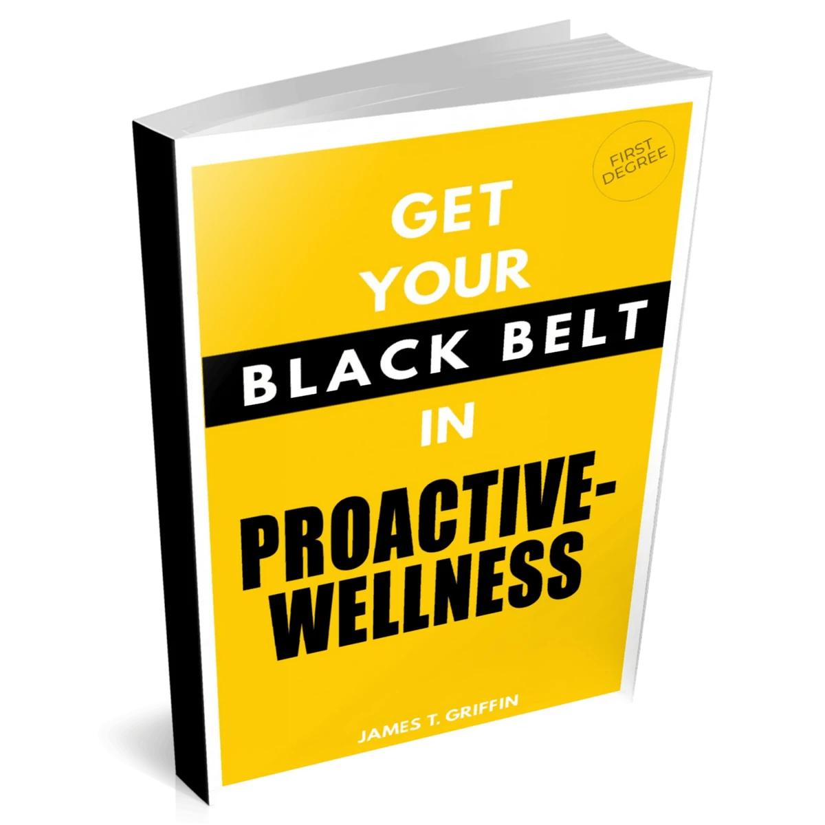 Black Belt In Proactive-Wellness