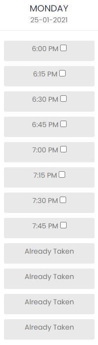 doctor schedule 3