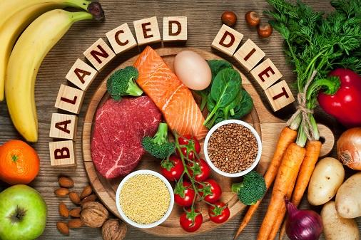 Eat balanced diet