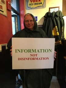 """Information, not disinformation"""