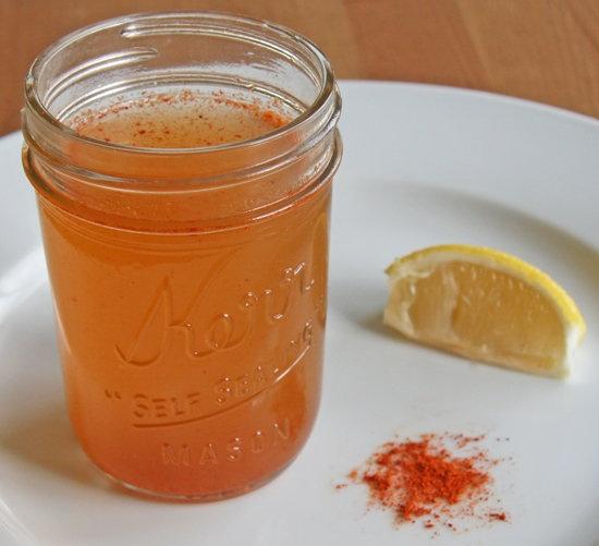 Lemon and Cayenne Water