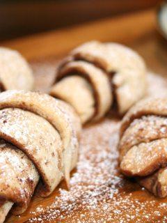 Mini Snickerdoodle Croissant Cookie