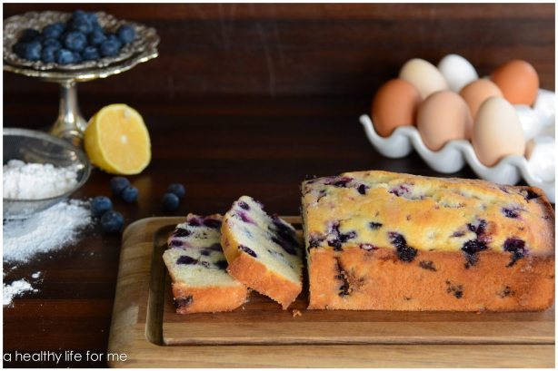 Blueberry Lemon Bread AHLFM