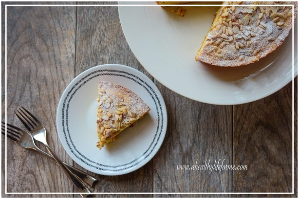 Gluten Free and Dairy Free Italian Pine Nut and Apricot Cake