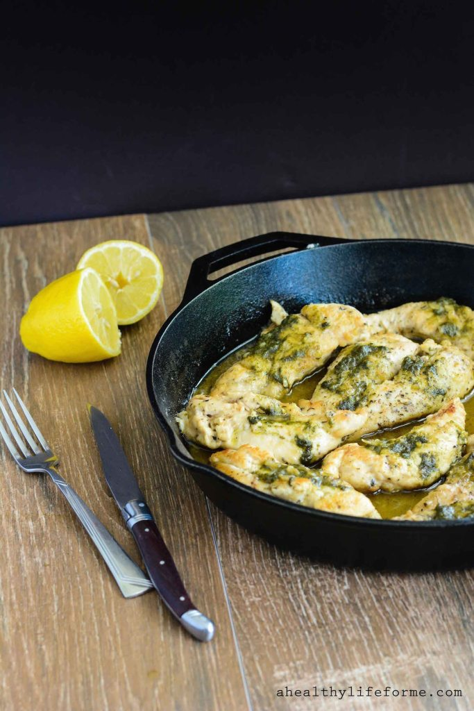 Monte Cristo Skillet Chicken is an easy, delicious weeknight dinner that is ready in under 30 minutes | ahelathylifeforme.com