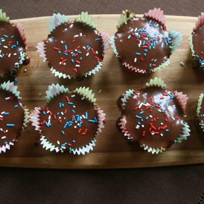 Chocolate Peanut Butter Cupcakes