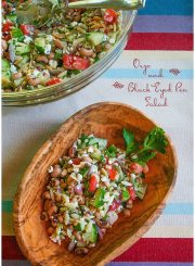 Orzo and Black Eyed Pea Salad