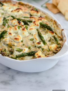 Vegetable Goat Cheese Dip perfect recipe for party or tailgating | ahealthylifeforme.com