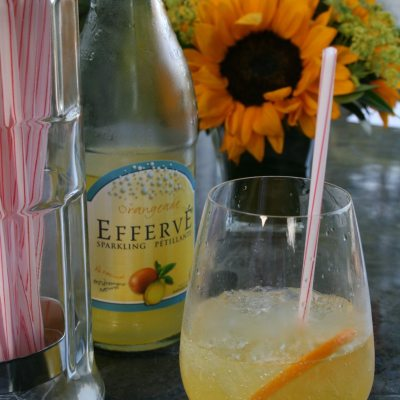 Sparkling Orangeade Cocktail