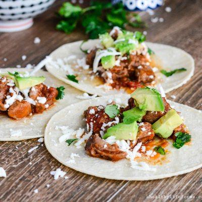 Pulled Pork Tacos {gluten free}
