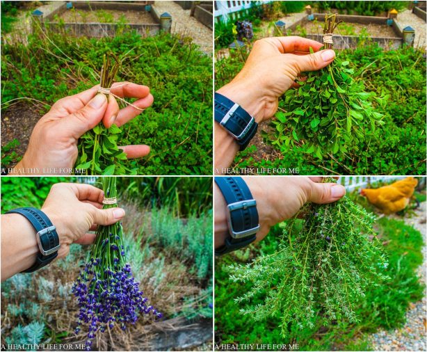 How To Dry Herbs   ahealthylifeforme.com