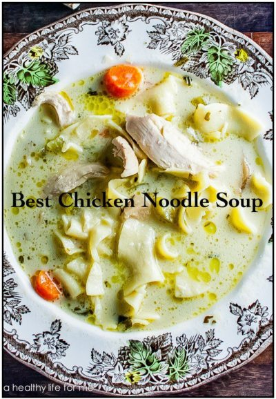 How To Make Chicken Noodle Soup | ahealthylifeforme.com