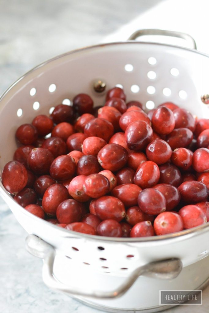 How To Make the Perfect Cranberry Sauce Recipe | ahealtylifeforme.com