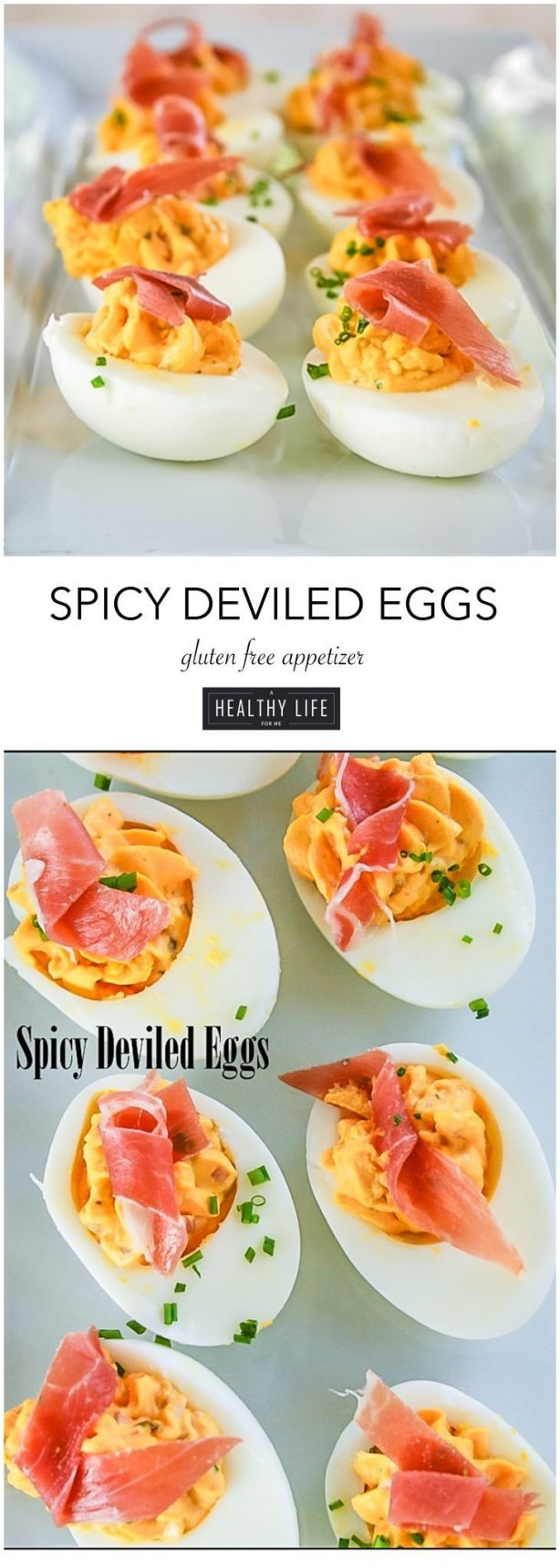 spicy deviled egg recipe | ahealthylifeforme.com