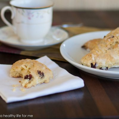 How to Make Cranberry Orange Scones