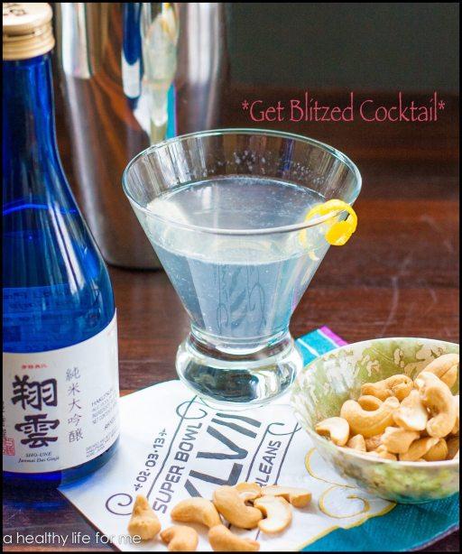 Get Blitzed Cocktail for your superbowl