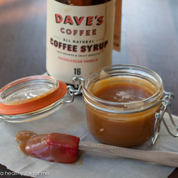 Caramel Sauce made with DAVE'S SYRUP