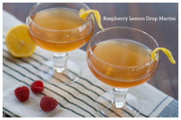 Raspberry Lemon Drop Martini 2
