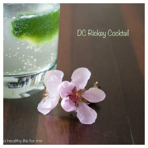 DC Rickey Cocktail
