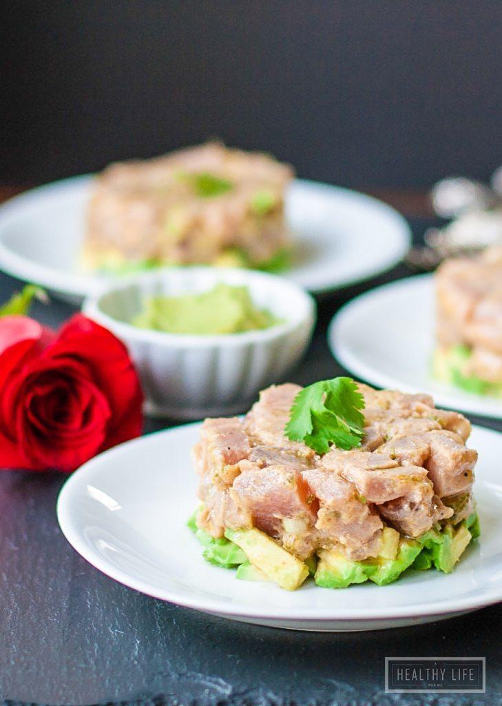 Tuna Tartare Recipe   ahealthylifeforme.com