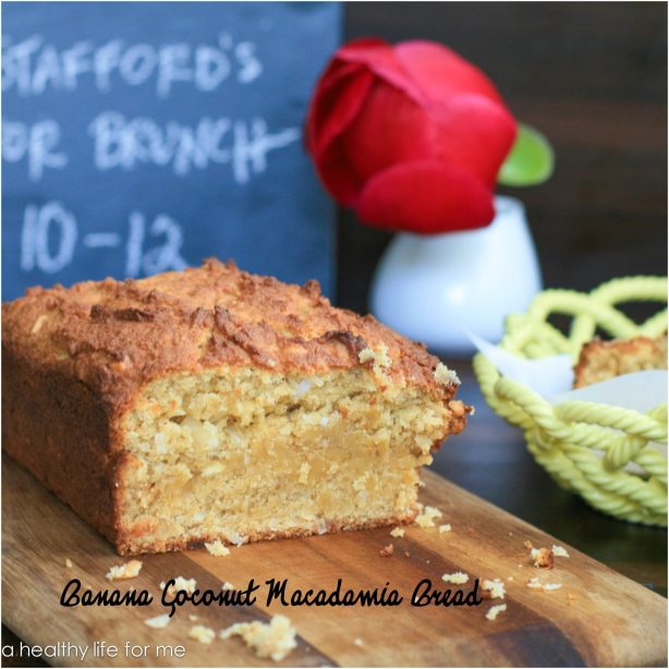 Banana Coconut Macadamia Bread 2