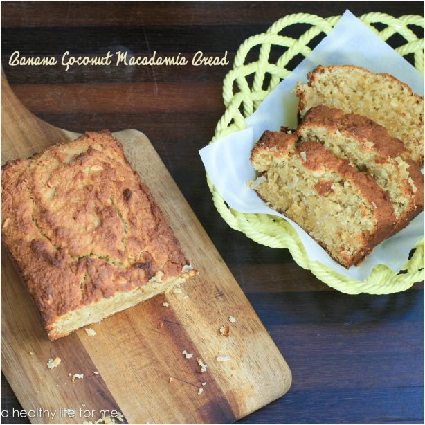 Banana Coconut Macadamia Bread