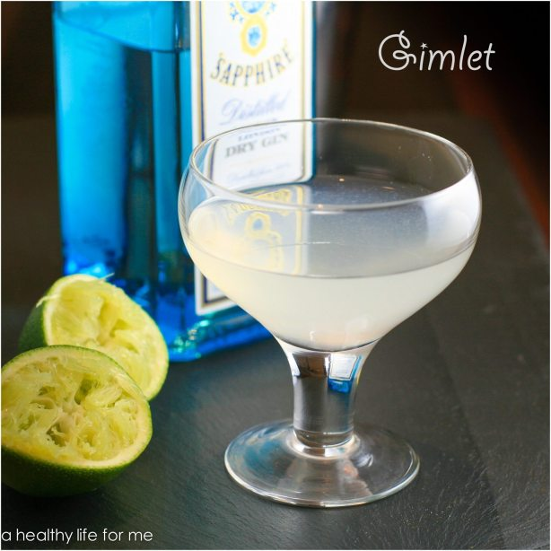 Gimlet Gin Lime Juice Simple Syrup