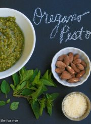Oregano Pesto Recipe | ahealthylifeforme.com