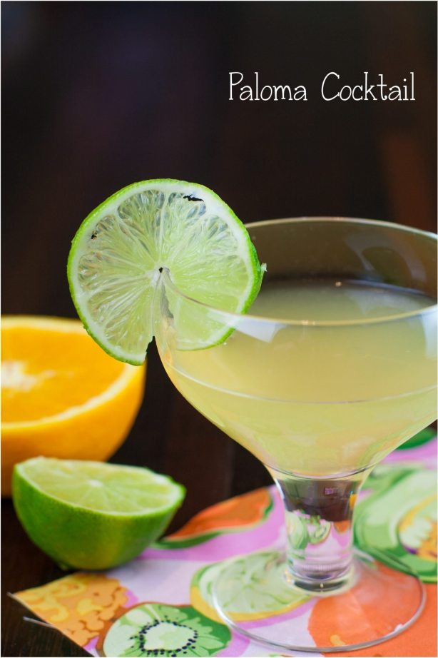 Paloma Cocktail Margarita Cocktail | Margarita Day Cocktail Round Up