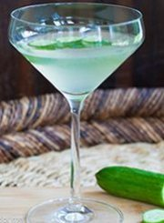 Cucumber-Martini