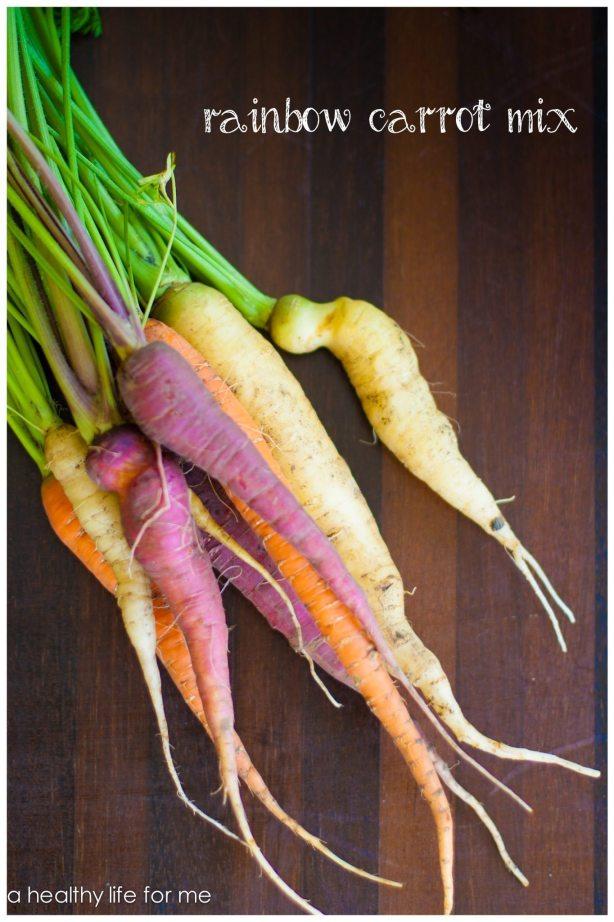 Rainbow Carrot Mix