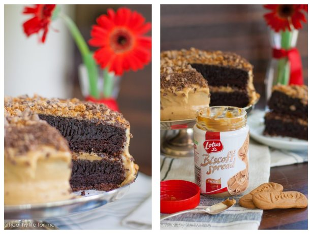 Biscoff Coffee Chocolate Cake