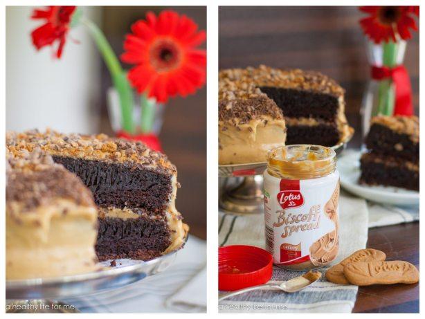 Biscoff Coffee Chocolate Cake