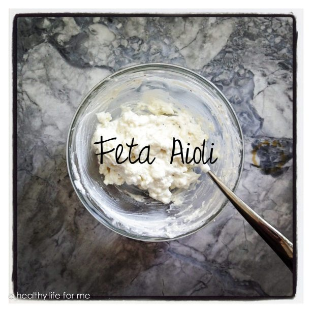 Feta Aioli Great for sandwiches