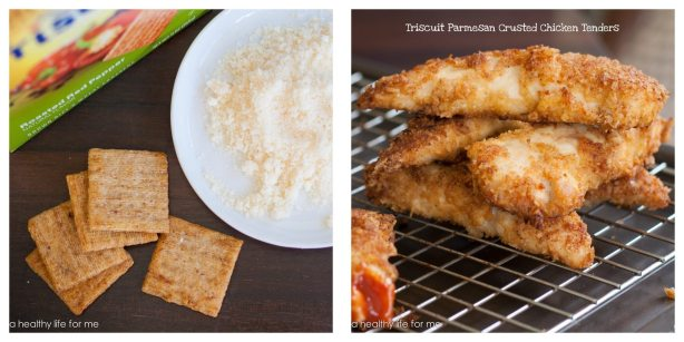 Triscuit Parmesan Crusted Chicken Tenders 4