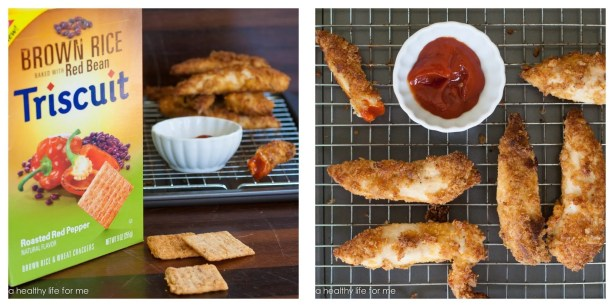 Triscuit Parmesan Cursted Chicken Tenders