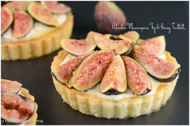 Fresh Figs Tart Mascarpone Honey