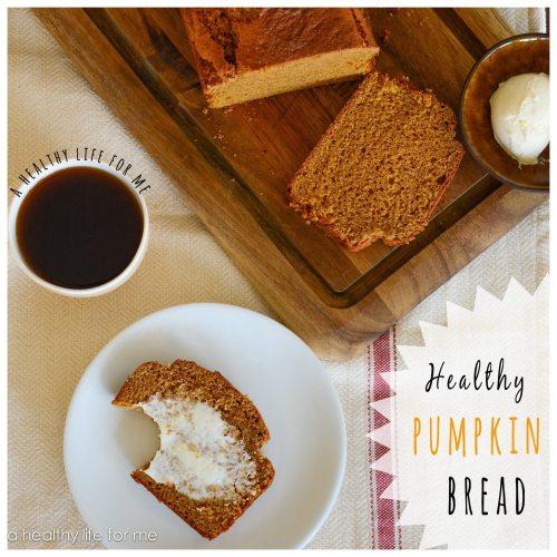 Healthier Pumpkin Bread 2