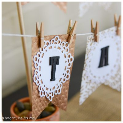 Thanksgiving DIY Banner