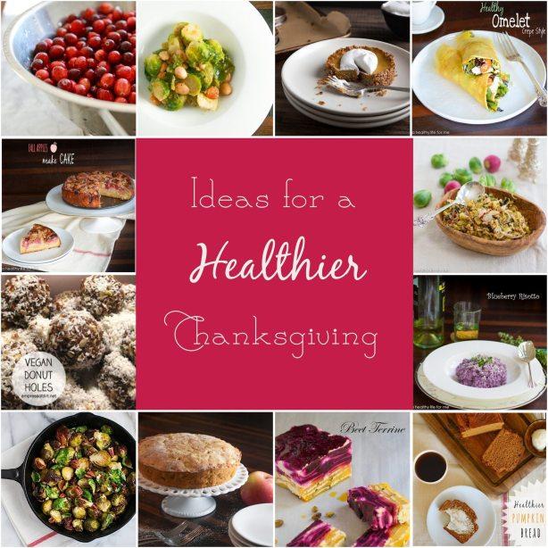 Thanksgiving Healthier Recipe Round Up copy