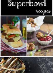 Healthier Superbowl Recipes