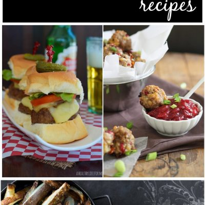 25 Healthier Super bowl Recipes