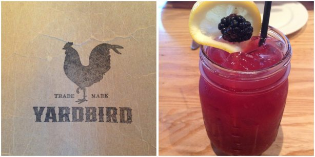 Blackberry Bourbon Lemonade from Yardbird