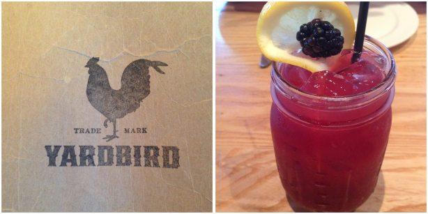 Blackberry Bourbon Lemonade from Yardbird