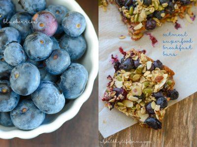 Oatmeal Superfood Breakfast Bars Recipe | ahealthylifeforme.com