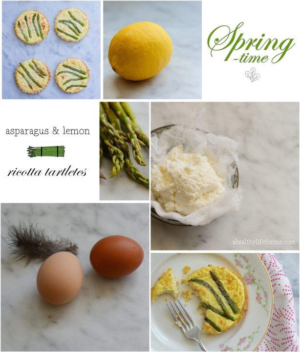 Asparagus and Lemon Tartlettes